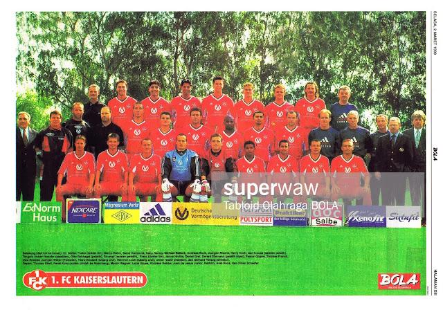 FULL TEAM SQUAD FC KAISERSLAUTERN