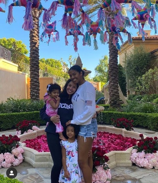 Vanessa Bryant's daughters bond together to celebrate her on her first birthday without Kobe Bryant