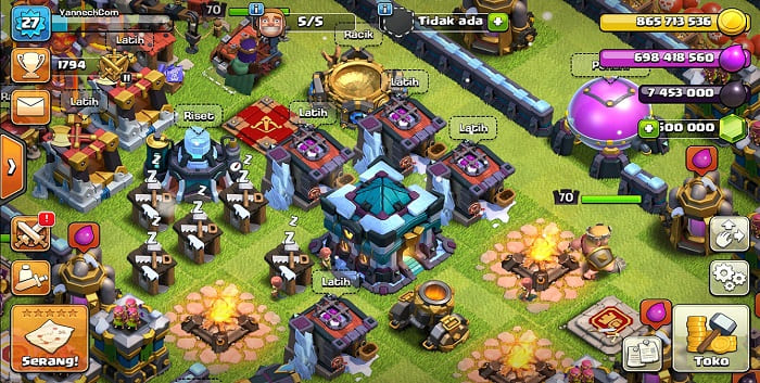 Cara Download Clash Of Clans Private Server TH 13 Max Terbaru