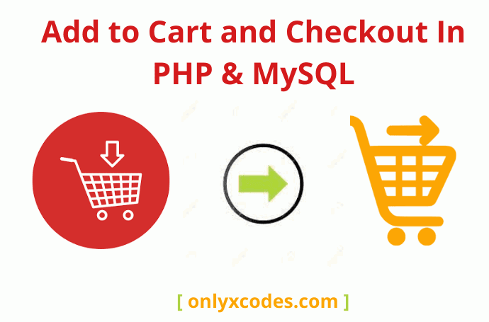 Add to Cart and Checkout Code in PHP