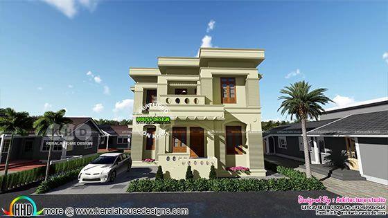 Luxury Kerala Villa In 5.5 Cent Plot