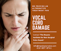 Repair Your Voice - Treatment for Vocal Cord Damage