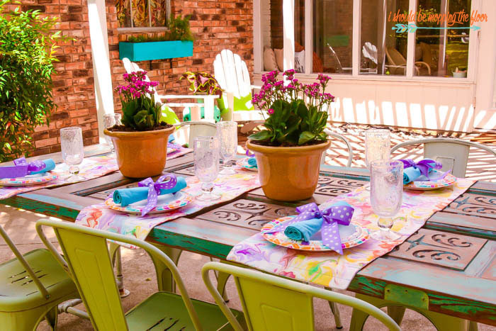 Patio Table Runners