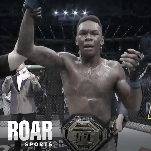 Nigeria's Israel Adesanya emerges UFC Middleweight Champion