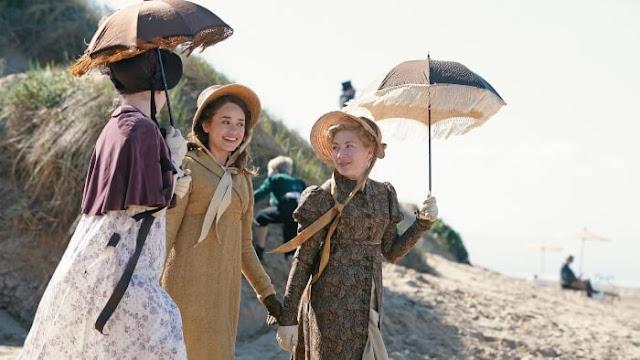 Charlotte, Mary y Clara en Sanditon