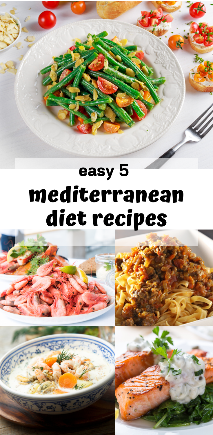 mediterranean diet recipes for weight loss plan