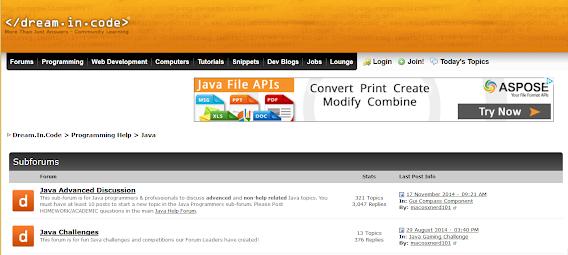 Good forum for Java developers