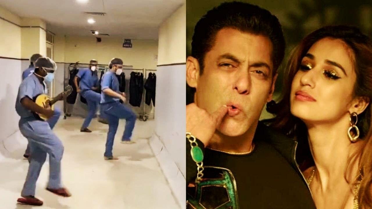 "Viral video: Doctors dance on Salman Khan Radhe song ""Seeti Maar"", Disha Patani calls them real heroes"