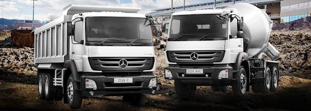Mercedes-Benz Axor 2528 C dan Axor 2528 RMC