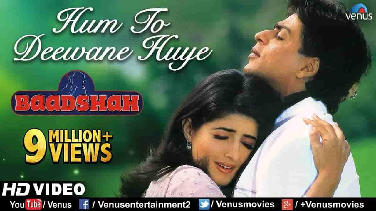 हम तो दीवाने हुए Hum to deewane huye lyrics in Hindi Baadshah Abhijeet Bhattacharya x Alka Yagnik Hindi Bollywood Song