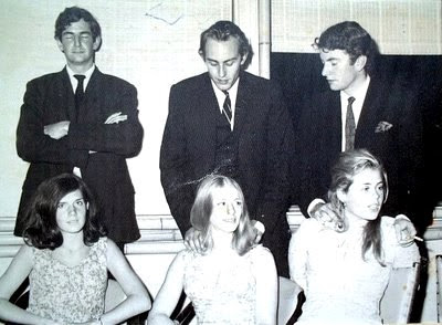Penny and Herry, Charlie and Frances, Nick and Sally - Southampton c.1965
