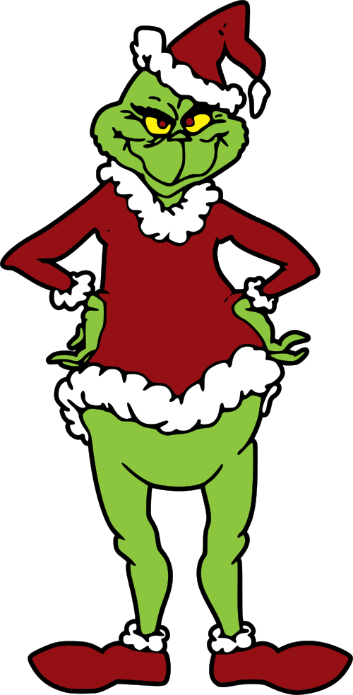 Free Grinch Svg File : grinch, Where, Grinch