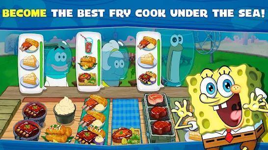 SpongeBob Krusty Cook-Off MOD APK Unlimited Coins Download