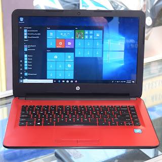 Jual Laptop HP 14-am010TU (Celeron N3060) Malang