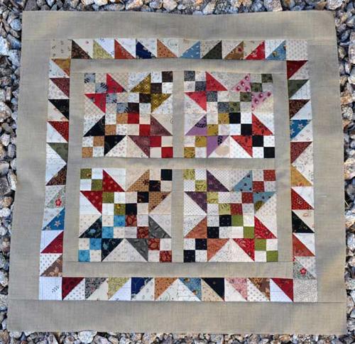 Buckeye Beauty Quilt Block - Free Pattern