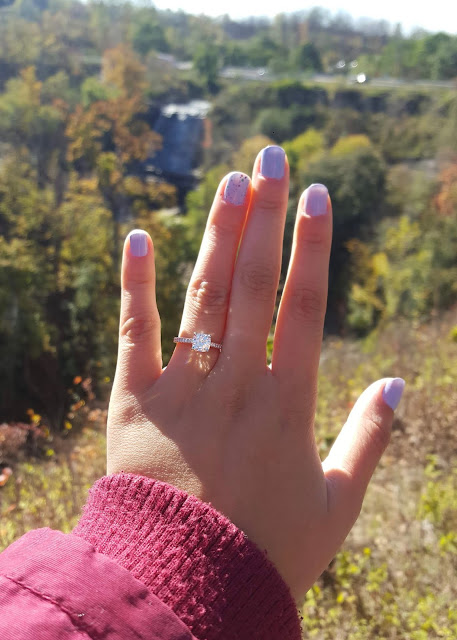 All About My Moissanite Engagement Ring