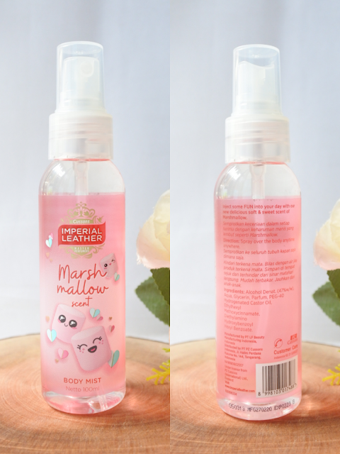 Imperial Leather Body Mist Marshmallow