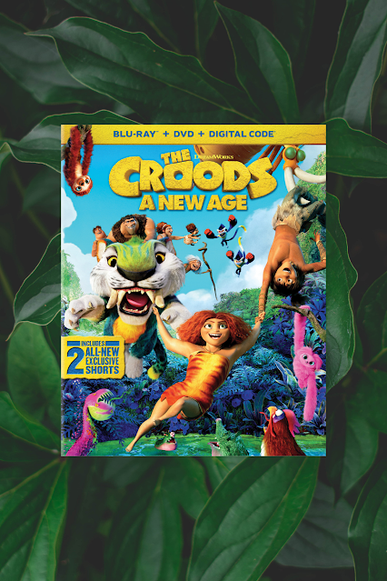 The Croods A New Age Bluray DVD Review