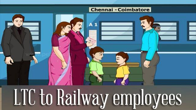 LTC-railway-employees-government-servants