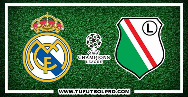 Ver Real Madrid vs Legia EN VIVO Gratis Por Internet Hoy 18 de Octubre 2016