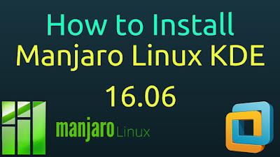 Manjaro Linux 16.06 KDE Plasma