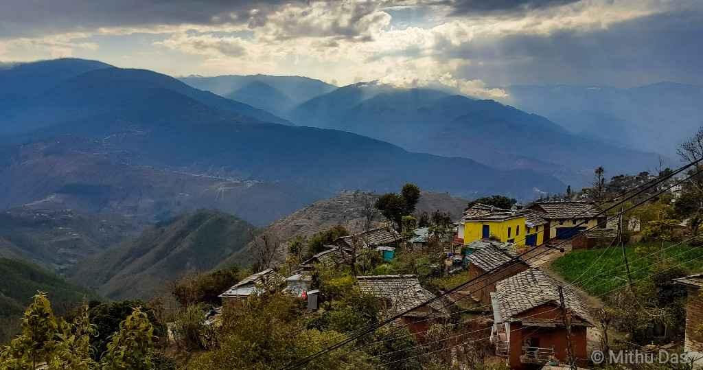 Silgadhi Nepali village