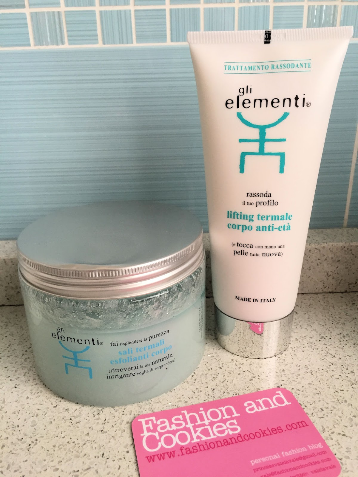 Home SPA secrets: Gli Elementi geothermal scrub and body lifting on Fashion and Cookies beauty blog, beauty blogger