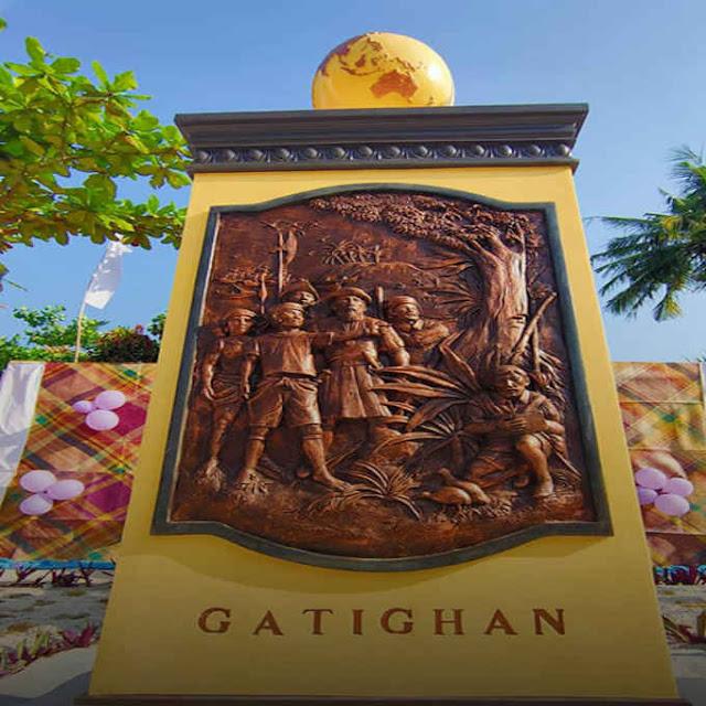 gatighan historical marker