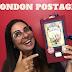 LONDON POSTAGE - VINTAGE JOURNAL
