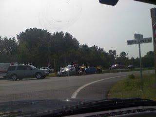 Salisbury News: Accident West Bound Rt  50 & White Lowe Rd