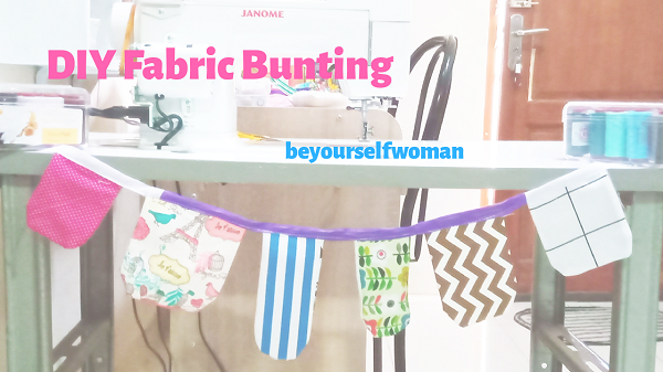 How To Make A Bunting, The Best Fabric Scrap Buster
