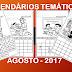 CALENDÁRIOS -  AGOSTO DE 2017