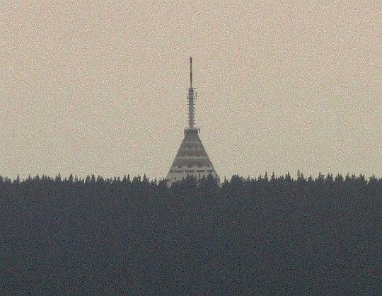 Czarna Góra (czes. Černá hora, niem. Schwarzenberg; 1299 m n.p.m.).