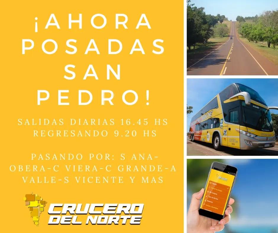Horarios San Pedro - Posadas