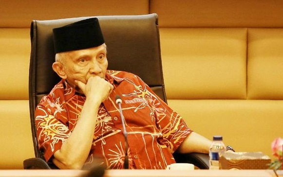 Amien Rais Minta Jokowi Tak Terjebak Mentalitas 'Koncoisme'