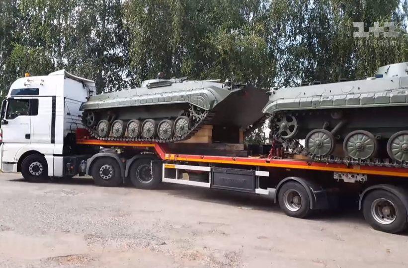 Укрспецекспорт передасть ЗСУ 26 БМП які вилучив у Польщі
