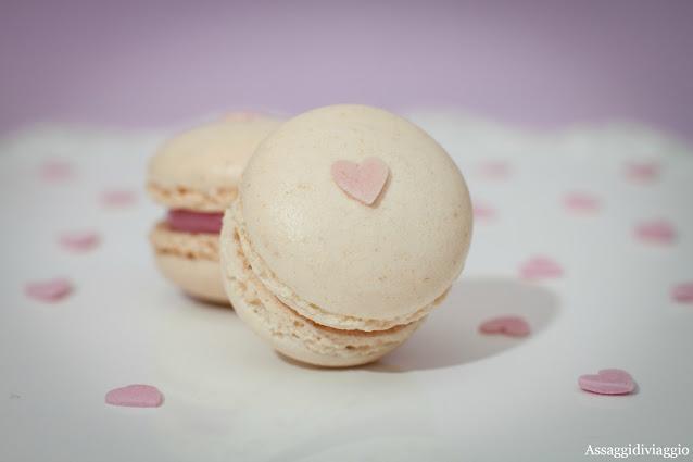 Macarons bianchi per San Valentino