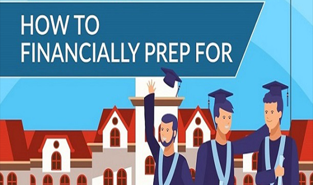 The best advice for college money saving #infographic