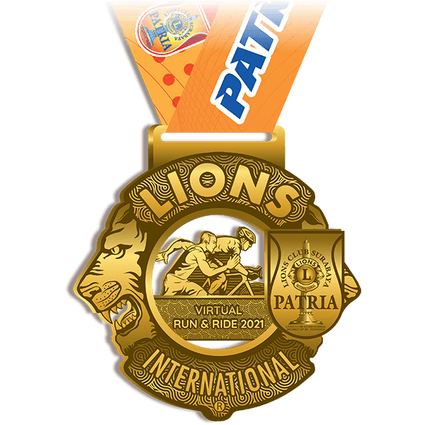 Medali � Patria Virtual Run & Ride • 2021
