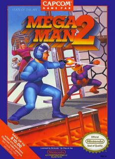 Capa do jogo Mega Man 2 para Nes