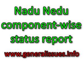 Manabadi Nadu Nedu component-wise status report