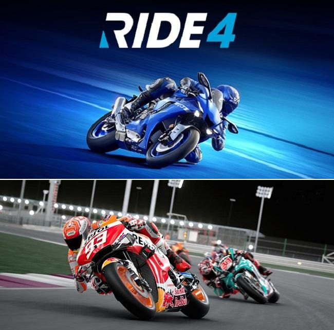 Compare Ride 4 vs MotoGP 2021