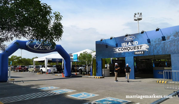 Ford EcoSport, Ford Ranger, Ford Ranger Raptor,Ford Everest , Bacolod blogger - Ford Island Conquest Bacolod - SM City Bacolod parking lot