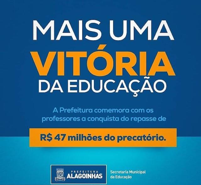 Prefeitura de Alagoinhas garante mais empenho para repassar valores do precatório do FUNDEF aos professores
