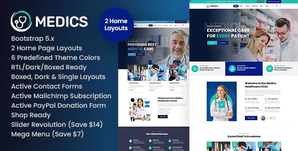 Best Healthcare HTML Template