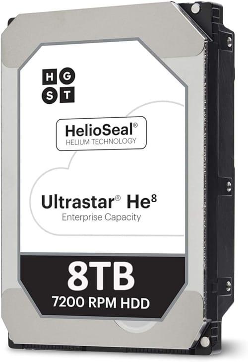 Review HGST Ultrastar 8TB 7200RPM SATA Hard Drive