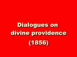 Dialogues on divine providence
