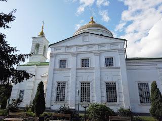 Ізюм. Хрестовоздвиженська церква. 1821 р.