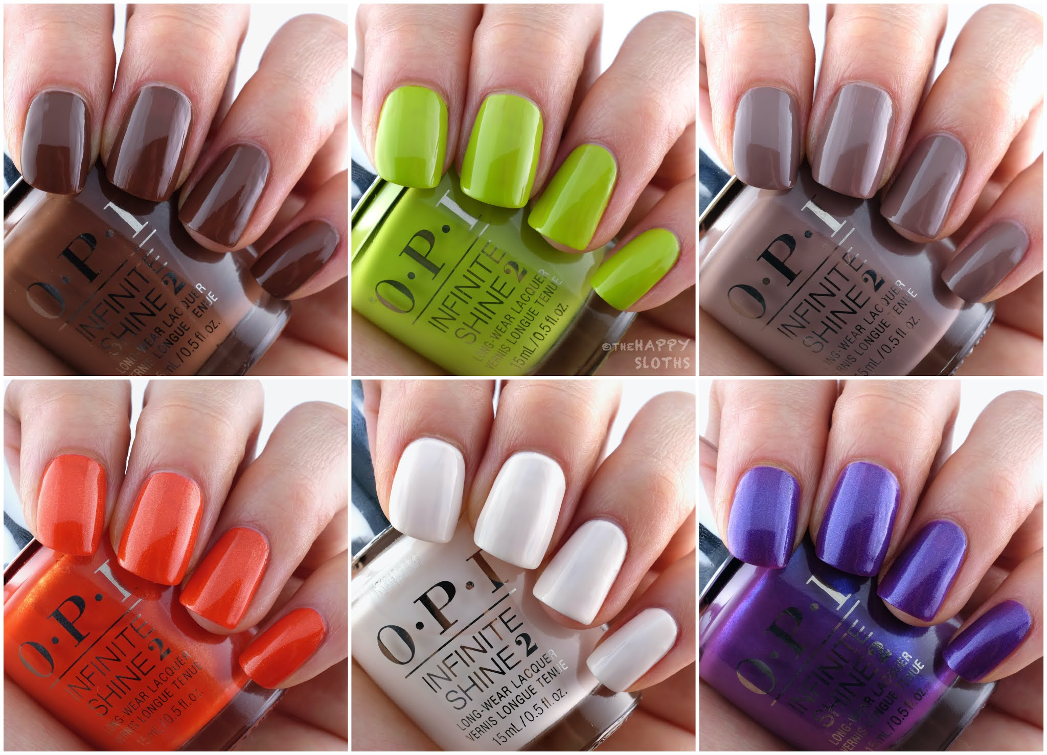 OPI   Summer 2021 Malibu Collection: Review and Swatches