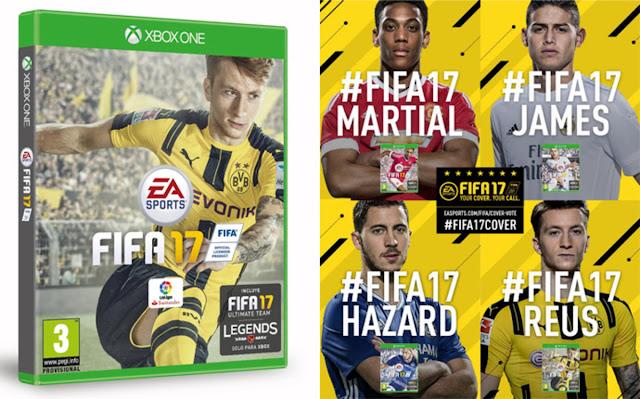 Marco Reus será, definitivamente, la portada de FIFA 17